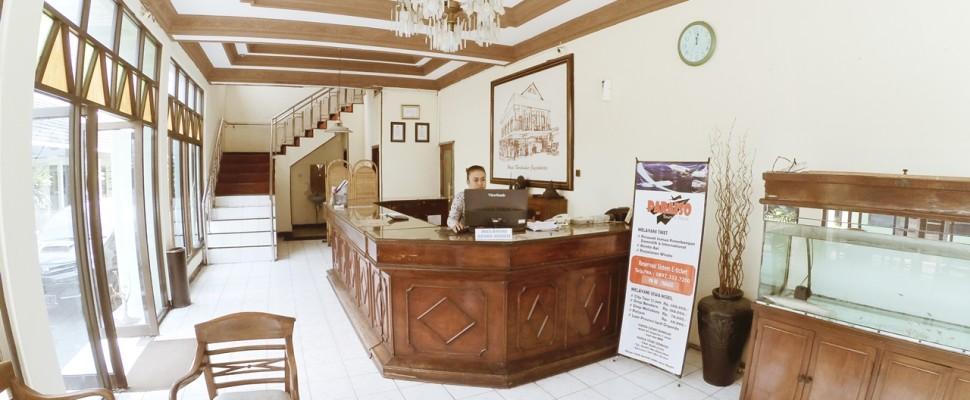 Front Office Hotel Borobudur Jogja