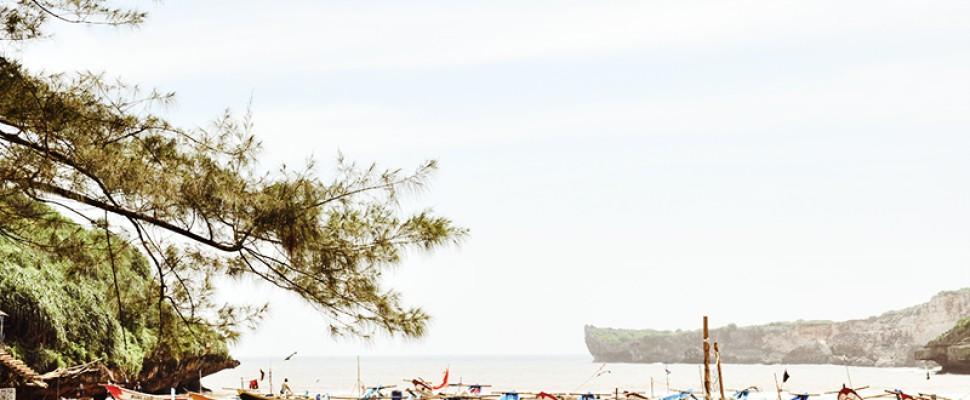 Pesona Alam Pantai Baron Destinasi Wisata Jogjakarta
